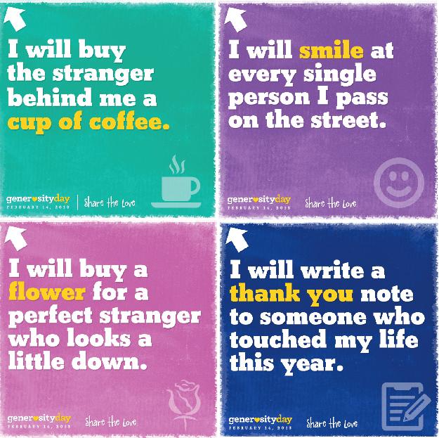 Generosity Day 2013 badges